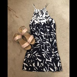 Tommy Bahama Sz X-small sundress Navy white